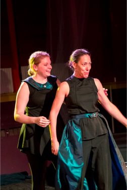 Antony and Cleopatra, Brave Spirits Theatre (Photo credit Claire Kimball)